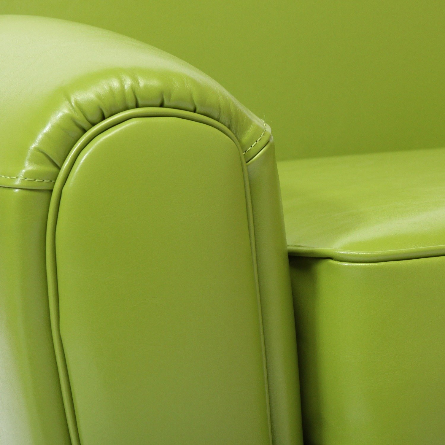 Lime Green Accent Chair - image-3