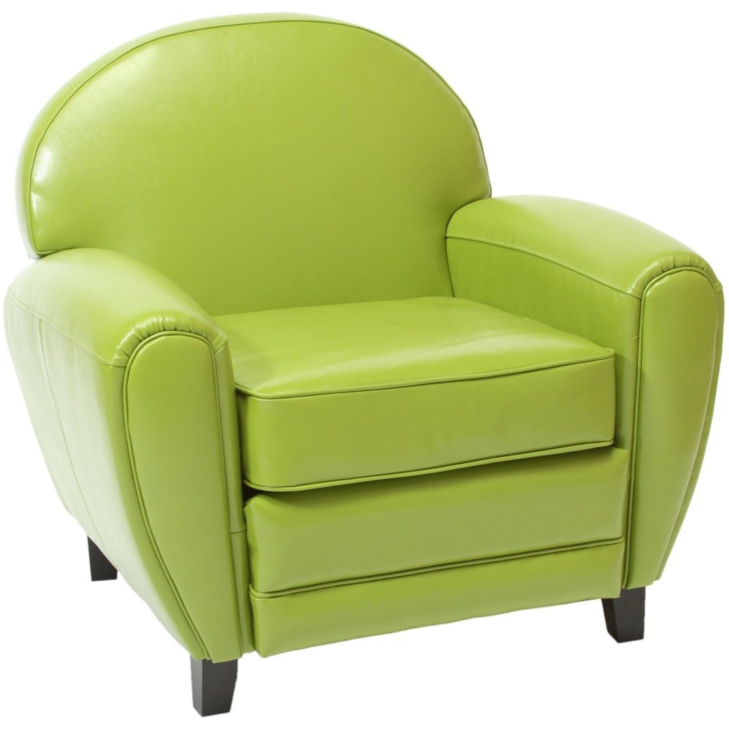 Lime Green Accent Chair - image-1