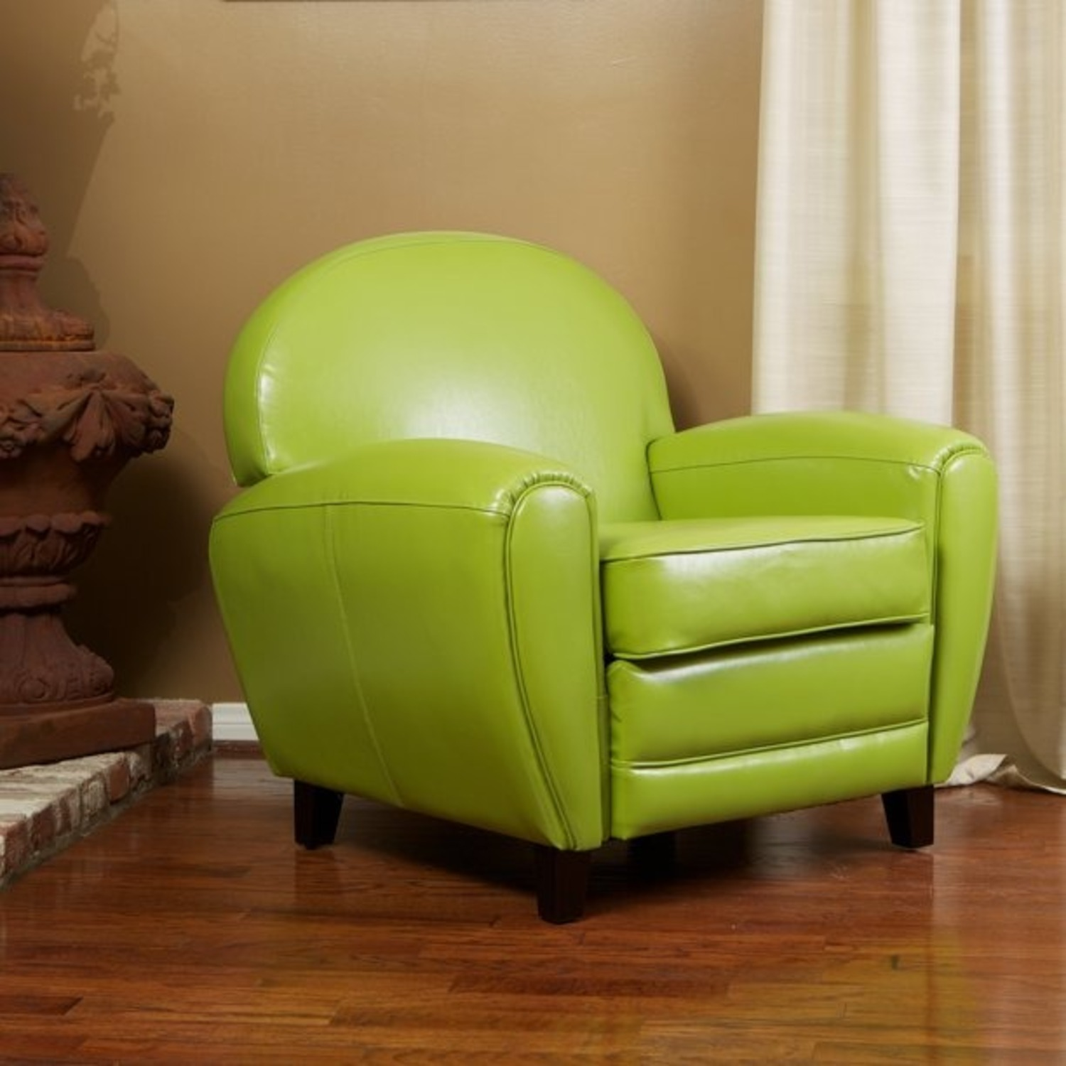 Lime Green Accent Chair - image-2