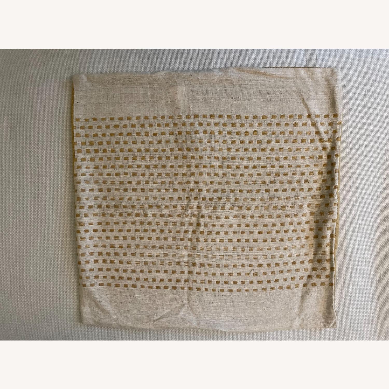 "West Elm Dot Linen Pillow Cover 18""x18"" - image-2"