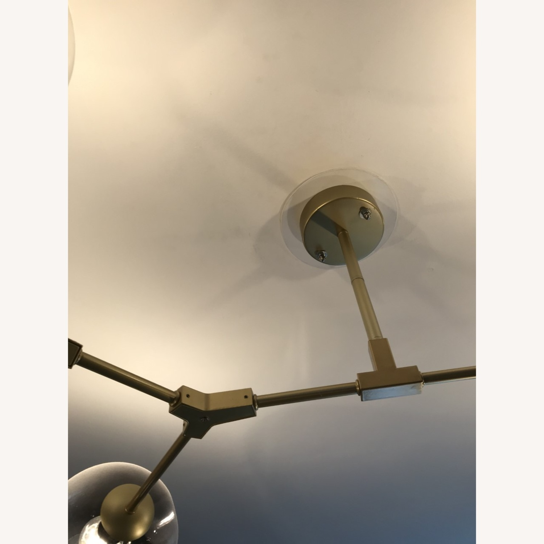 8 Globe Branching Bubble chandelier - image-3