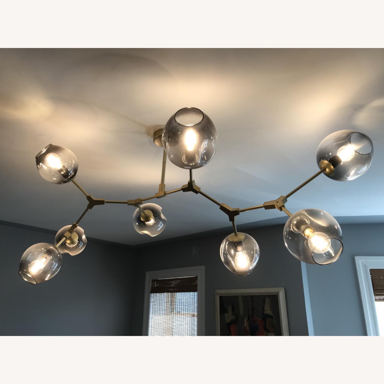 8 Globe Branching Bubble chandelier - image-0