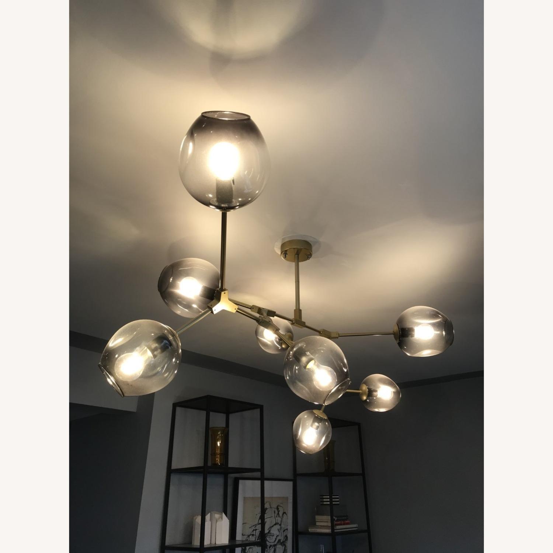 8 Globe Branching Bubble chandelier - image-2