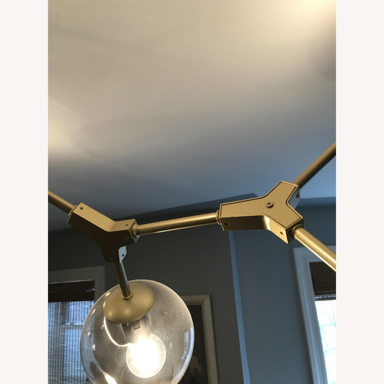 8 Globe Branching Bubble chandelier - image-4
