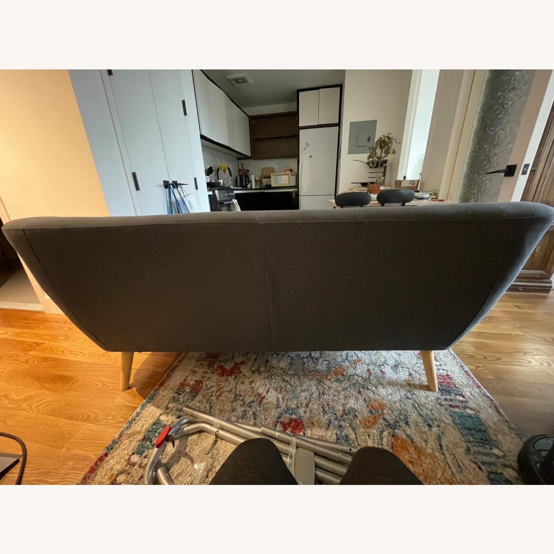 Blue Two-Three Seater Sofa - image-5