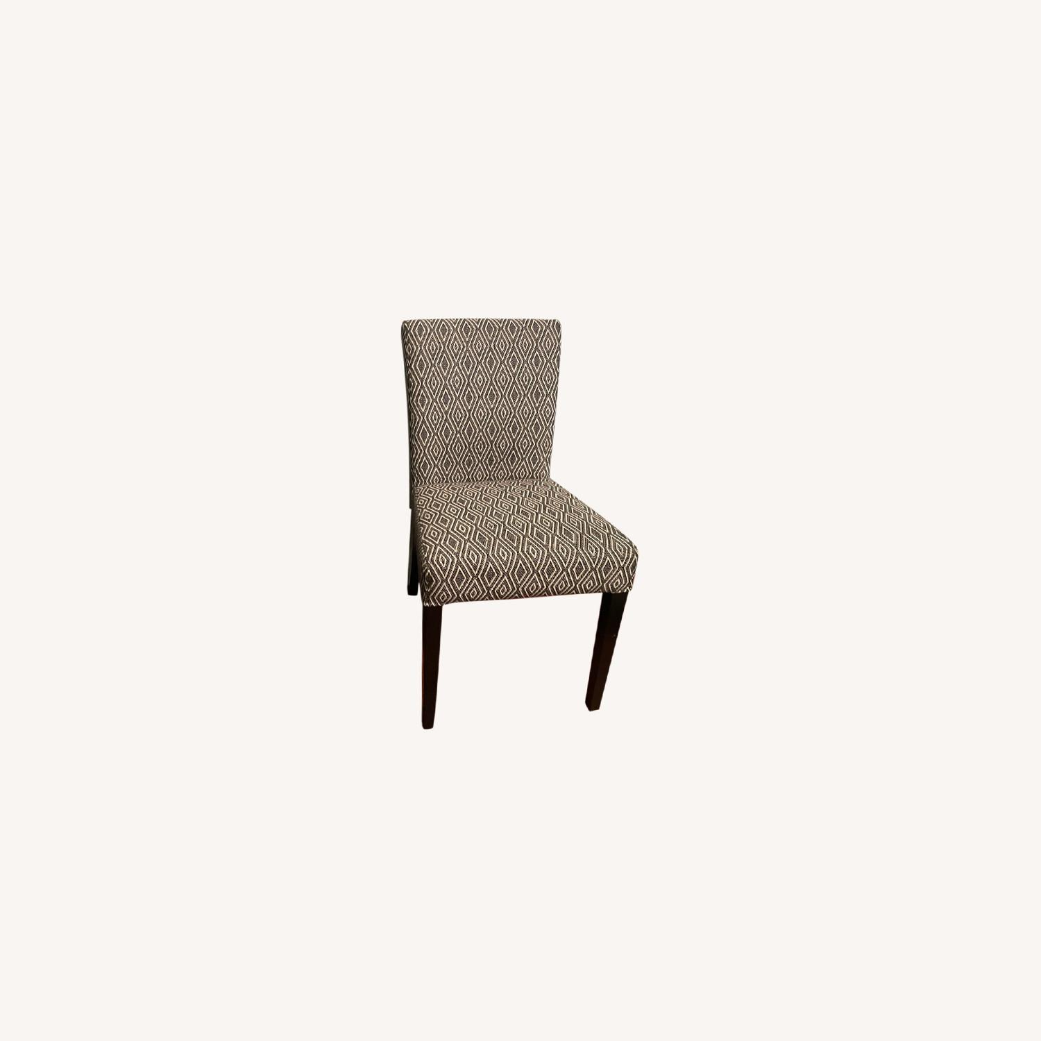 Crate & Barrel Upholstered Dining Chair Set - image-0