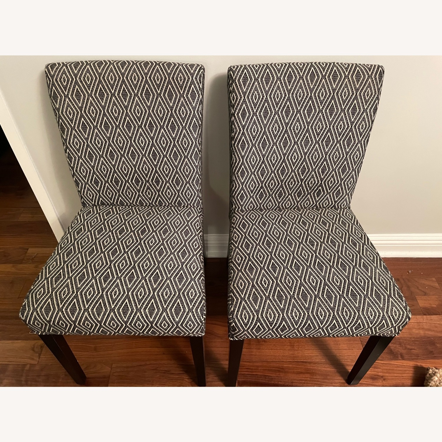 Crate & Barrel Upholstered Dining Chair Set - image-3