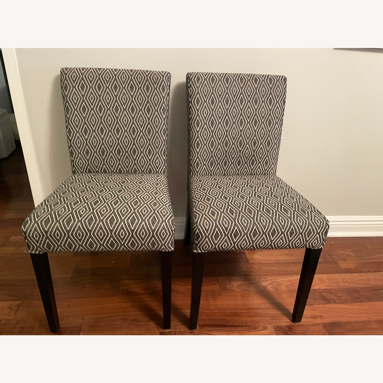 Crate & Barrel Upholstered Dining Chair Set - image-1