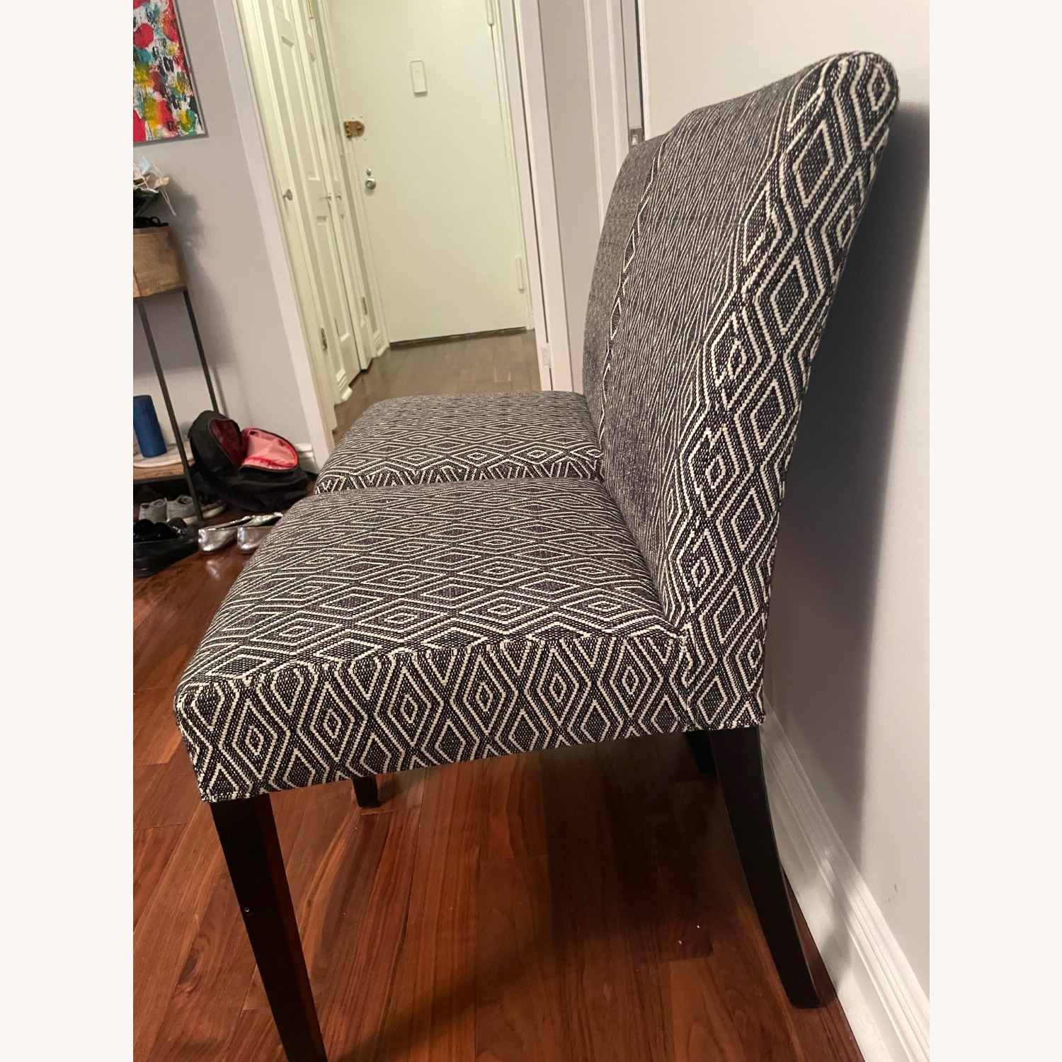 Crate & Barrel Upholstered Dining Chair Set - image-2