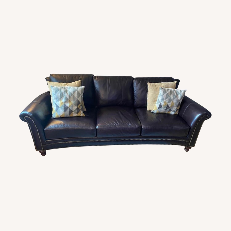 Bradington Young Leather Sofa - image-0