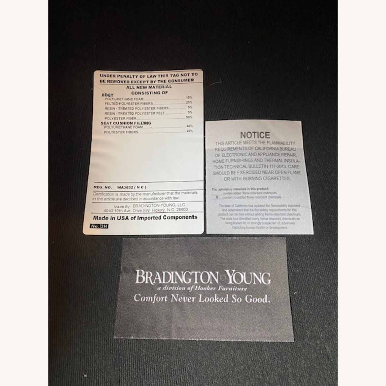 Bradington Young Leather Sofa - image-5