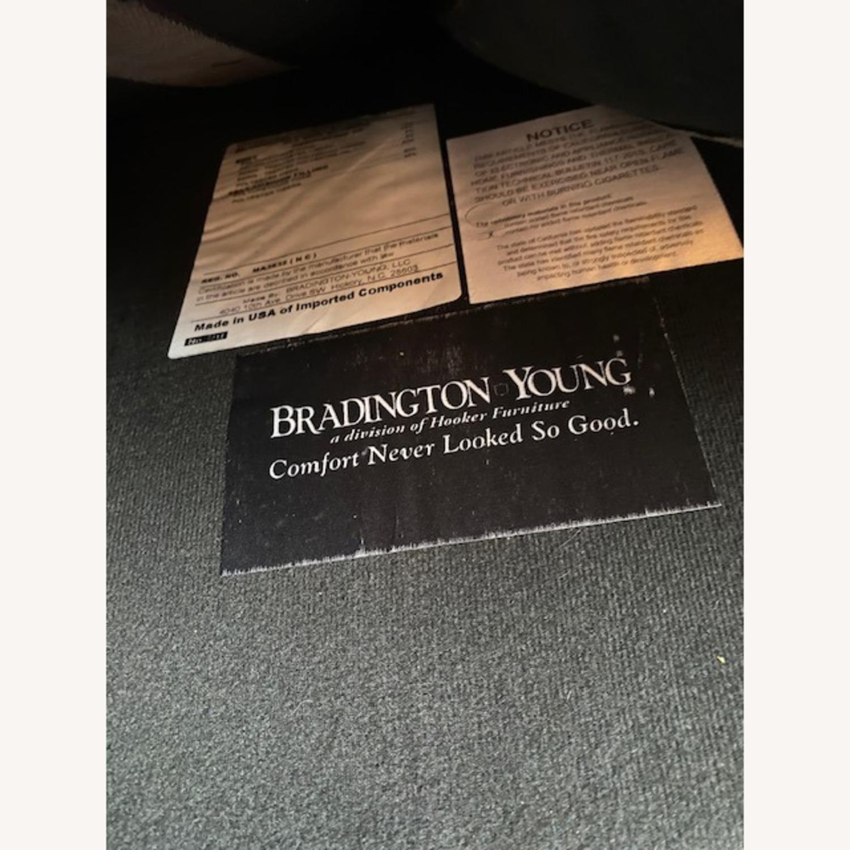 Bradington Young Leather Loveseat - image-4