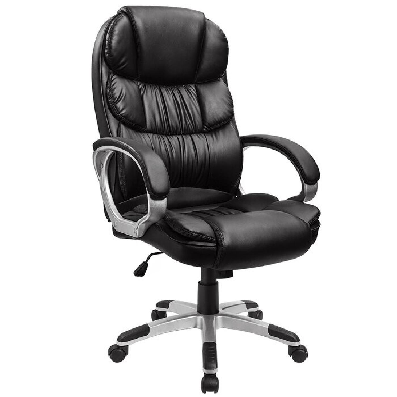 Wayfair Black Office Chair - image-4