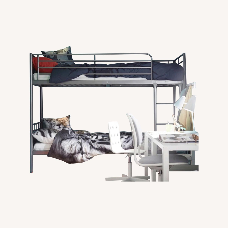 Ikea Svarta Bunk Bed Metal Aptdeco
