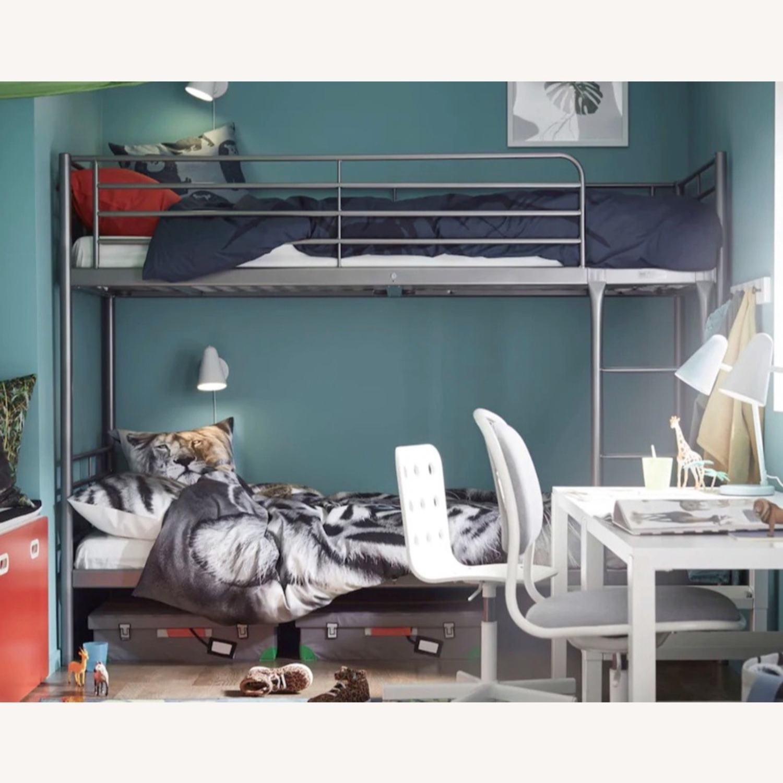 IKEA SVARTA Bunk Bed - Metal - image-1