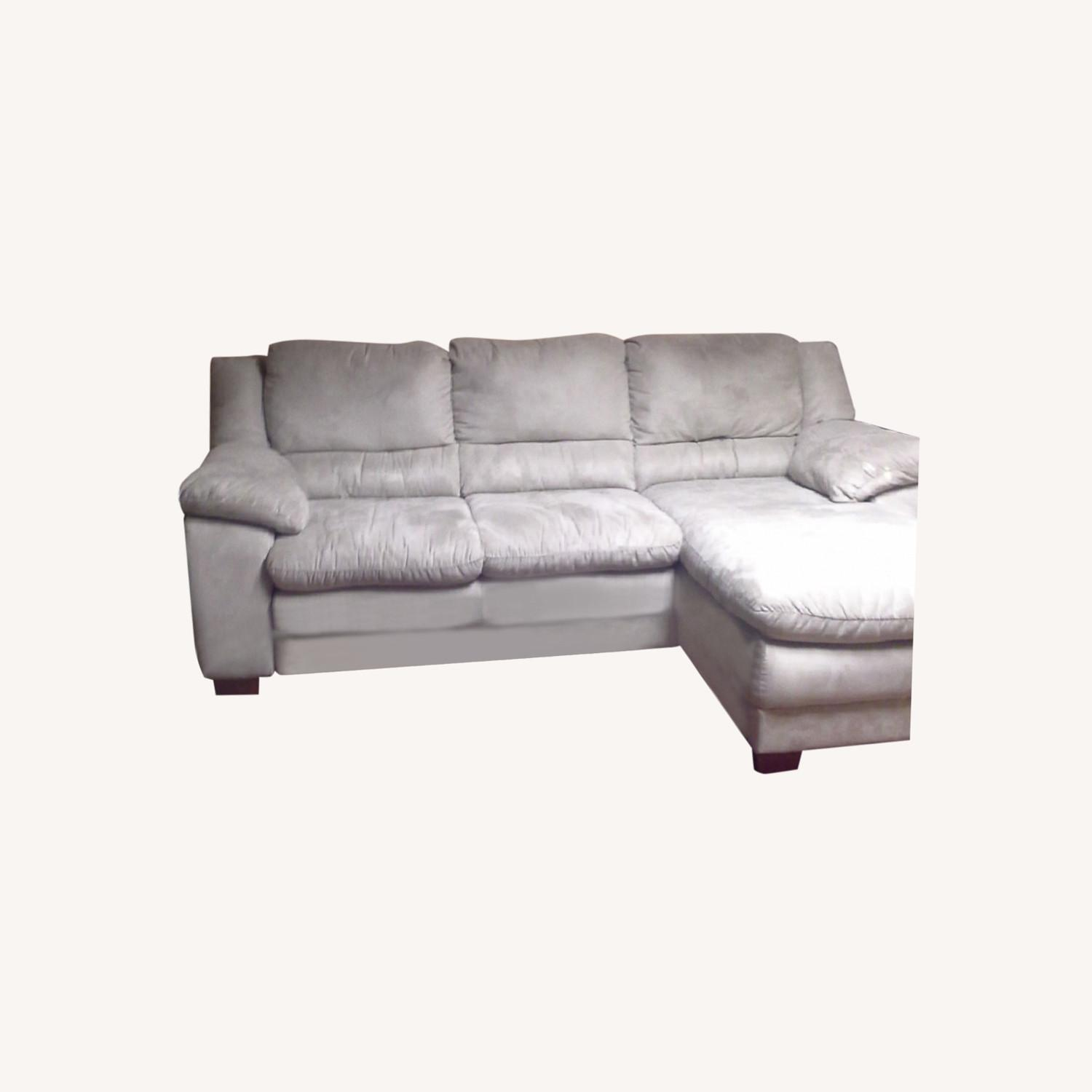 Raymour & Flanigan Sofa with Chaise - image-0