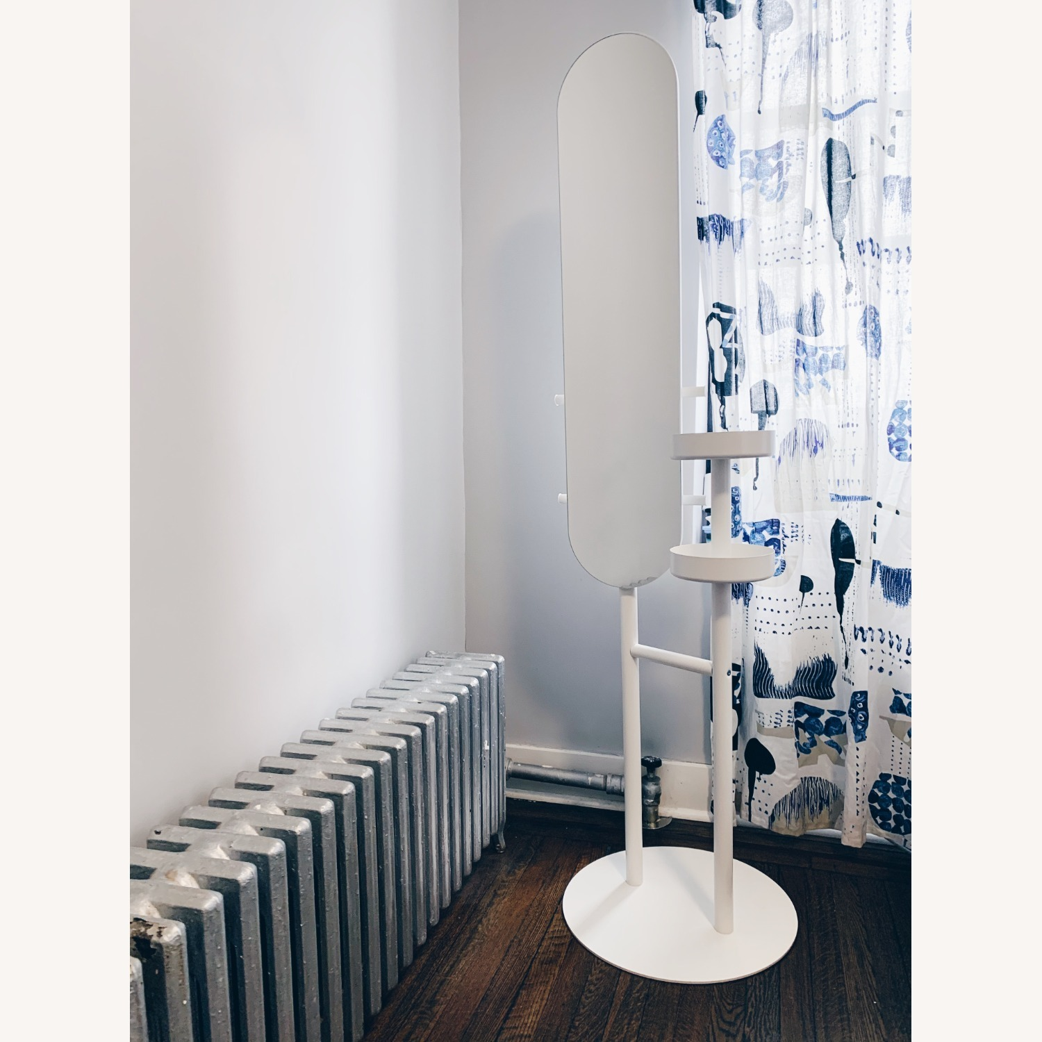 IKEA Mirror with Valet - image-2