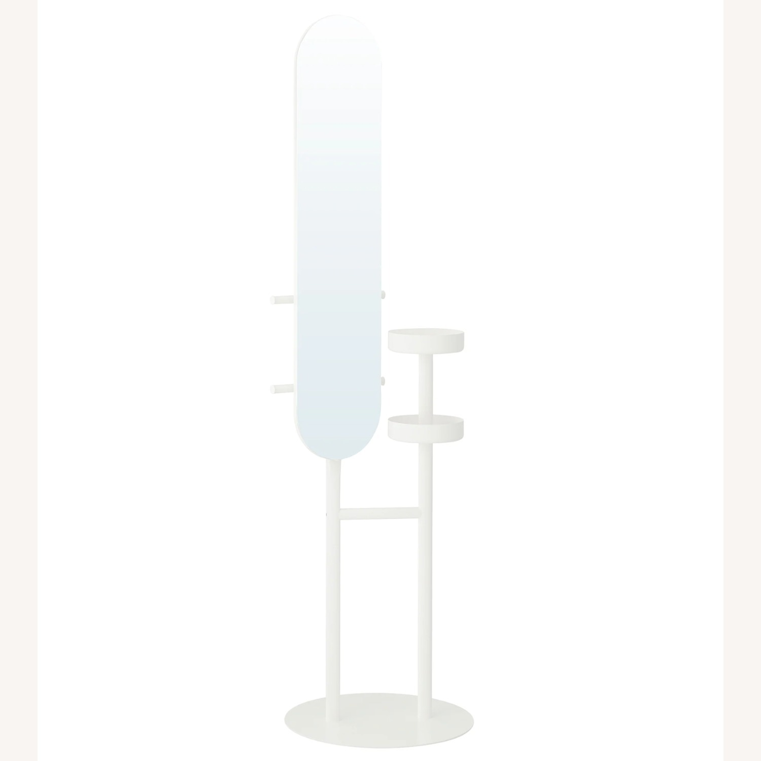 IKEA Mirror with Valet - image-1