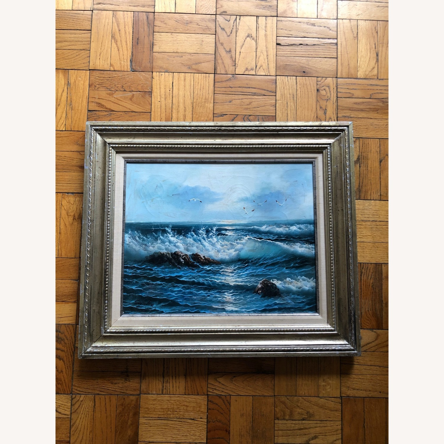 Genuine Seascape Painting - image-1