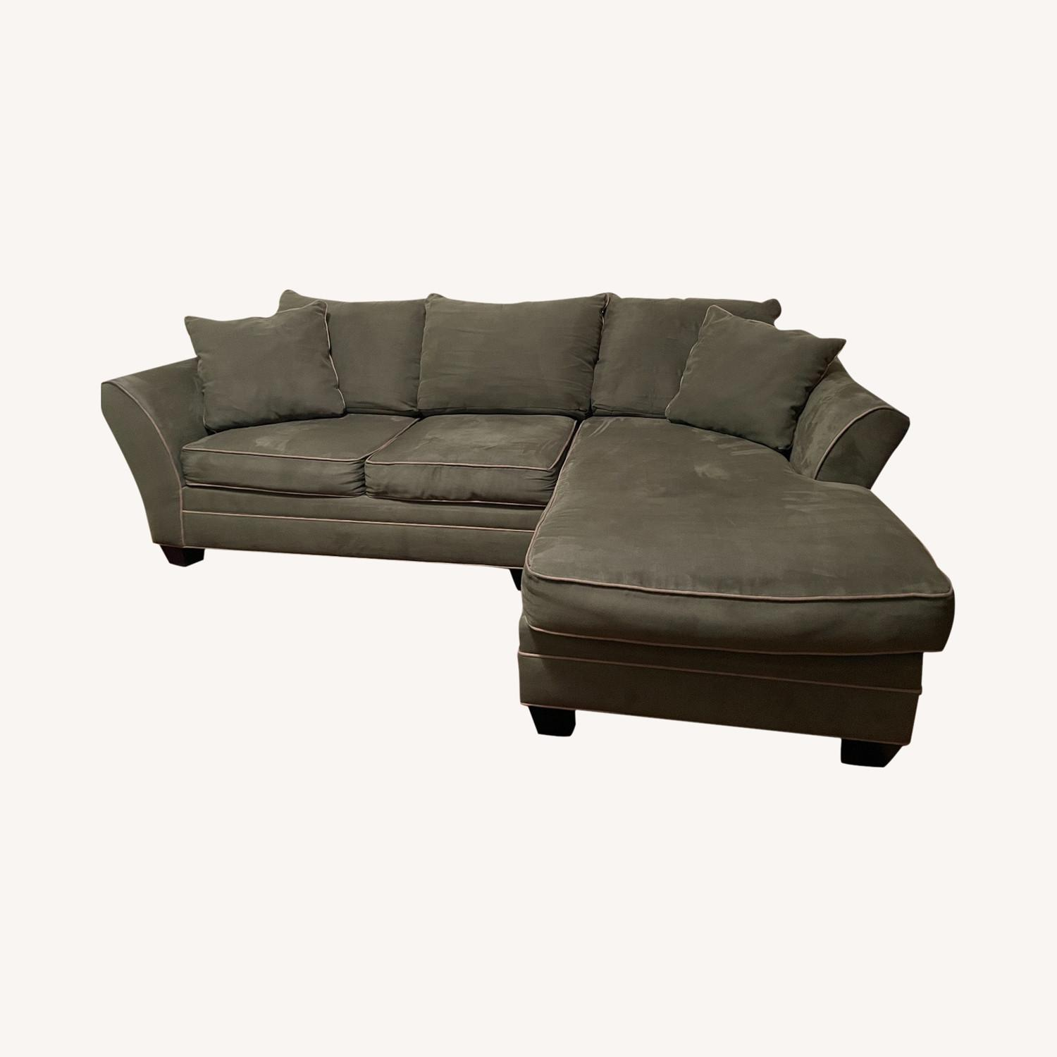 Raymour & Flanigan Foresthill 2-pc.  Sectional Sofa - image-0
