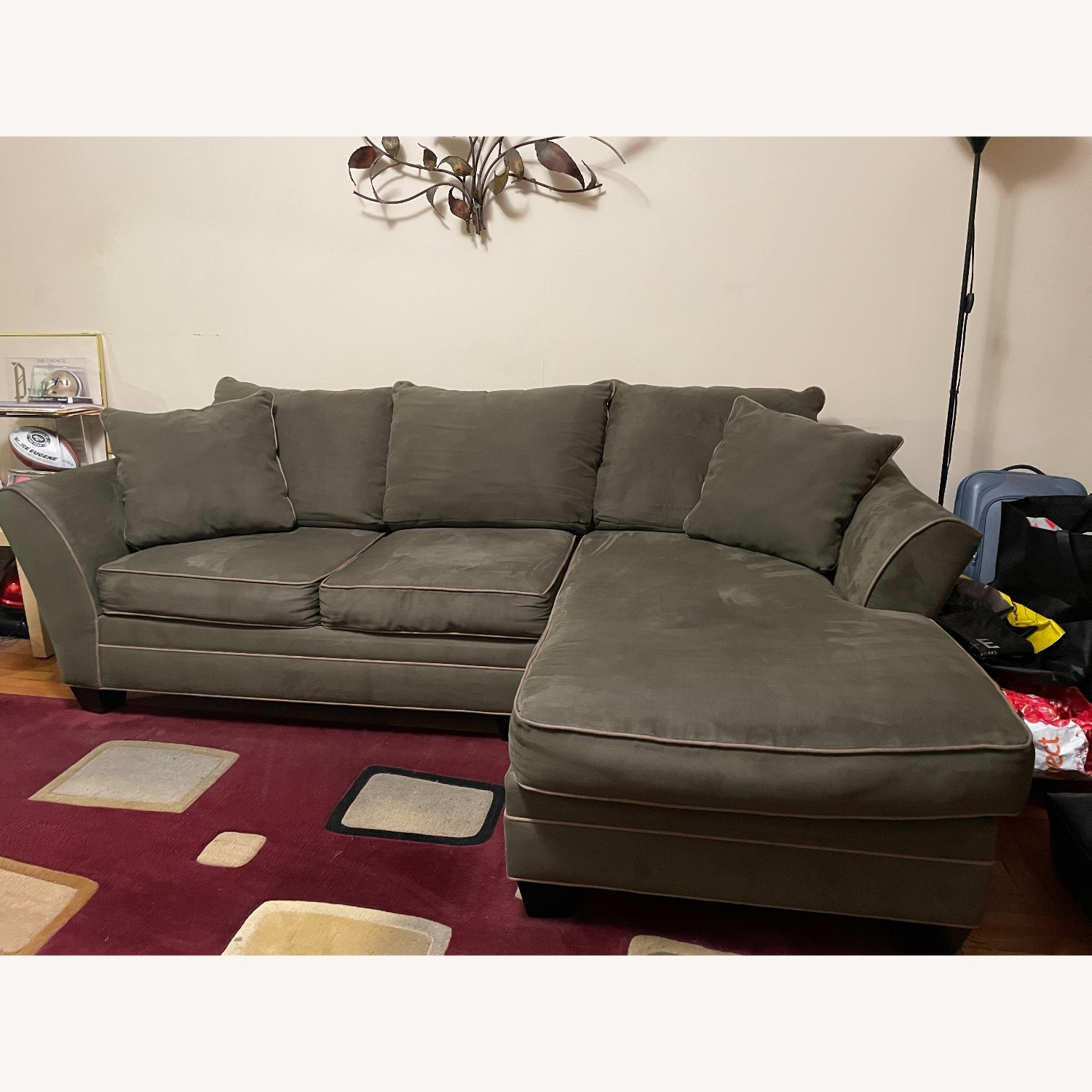 Raymour & Flanigan Foresthill 2-pc.  Sectional Sofa - image-1
