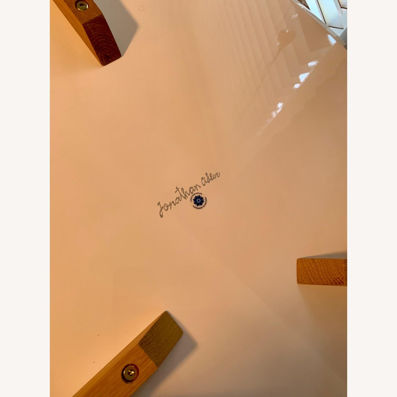 Jonathan Adler Okura Small White Kidney Table - image-3