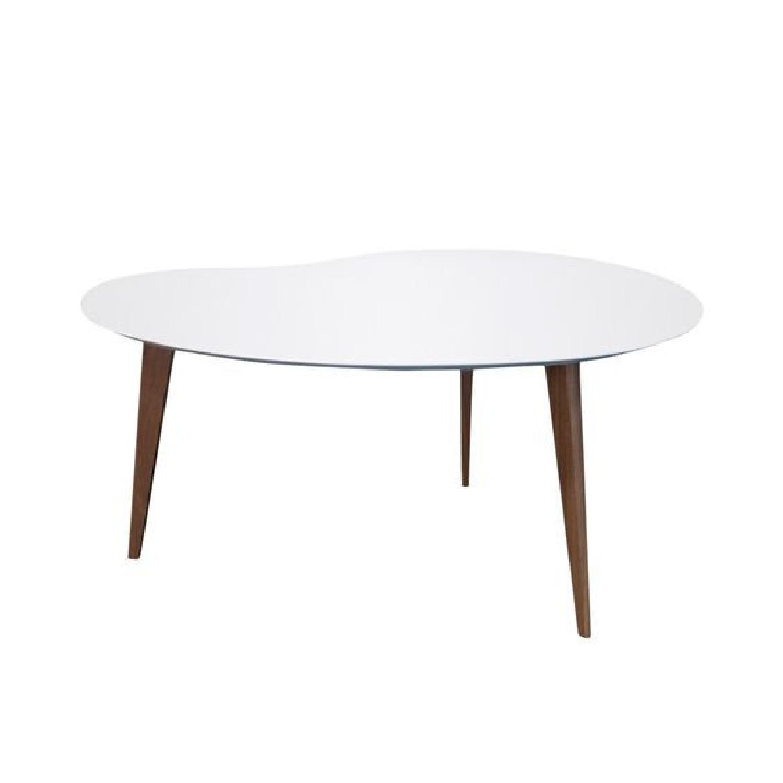 Jonathan Adler Okura Small White Kidney Table - image-5
