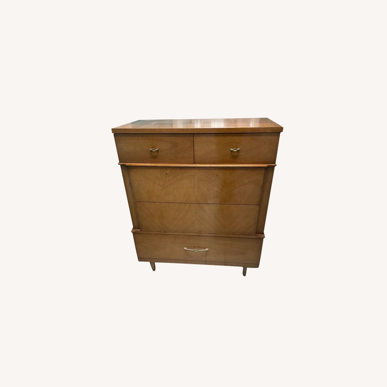 Dixie Vintage Mid Century 1950s Dresser - image-0