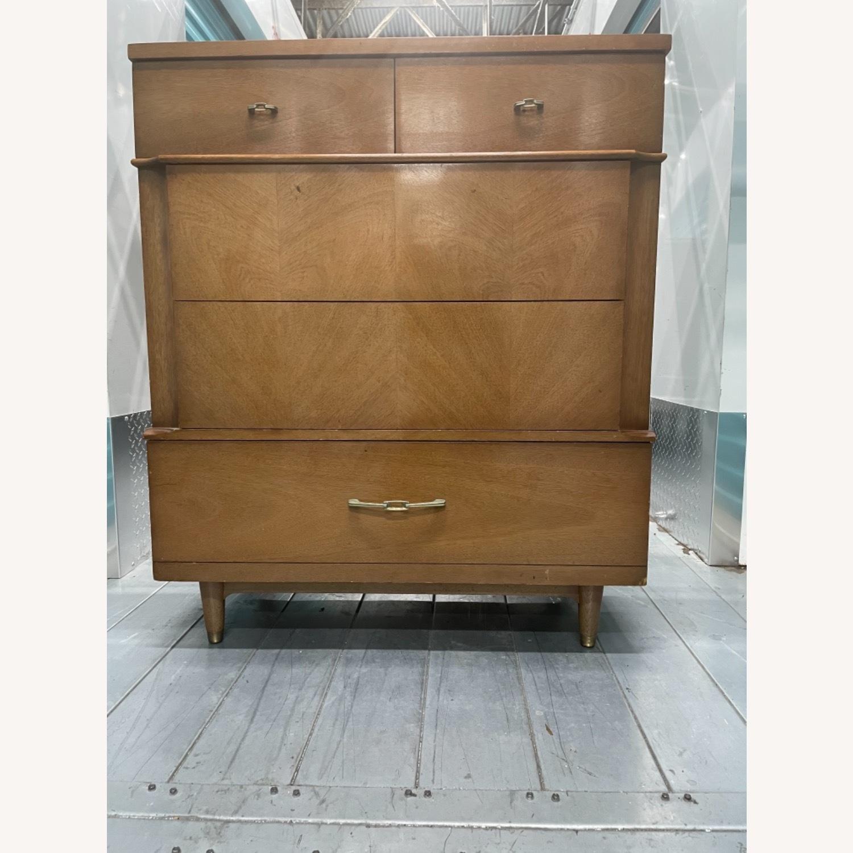 Dixie Vintage Mid Century 1950s Dresser - image-6