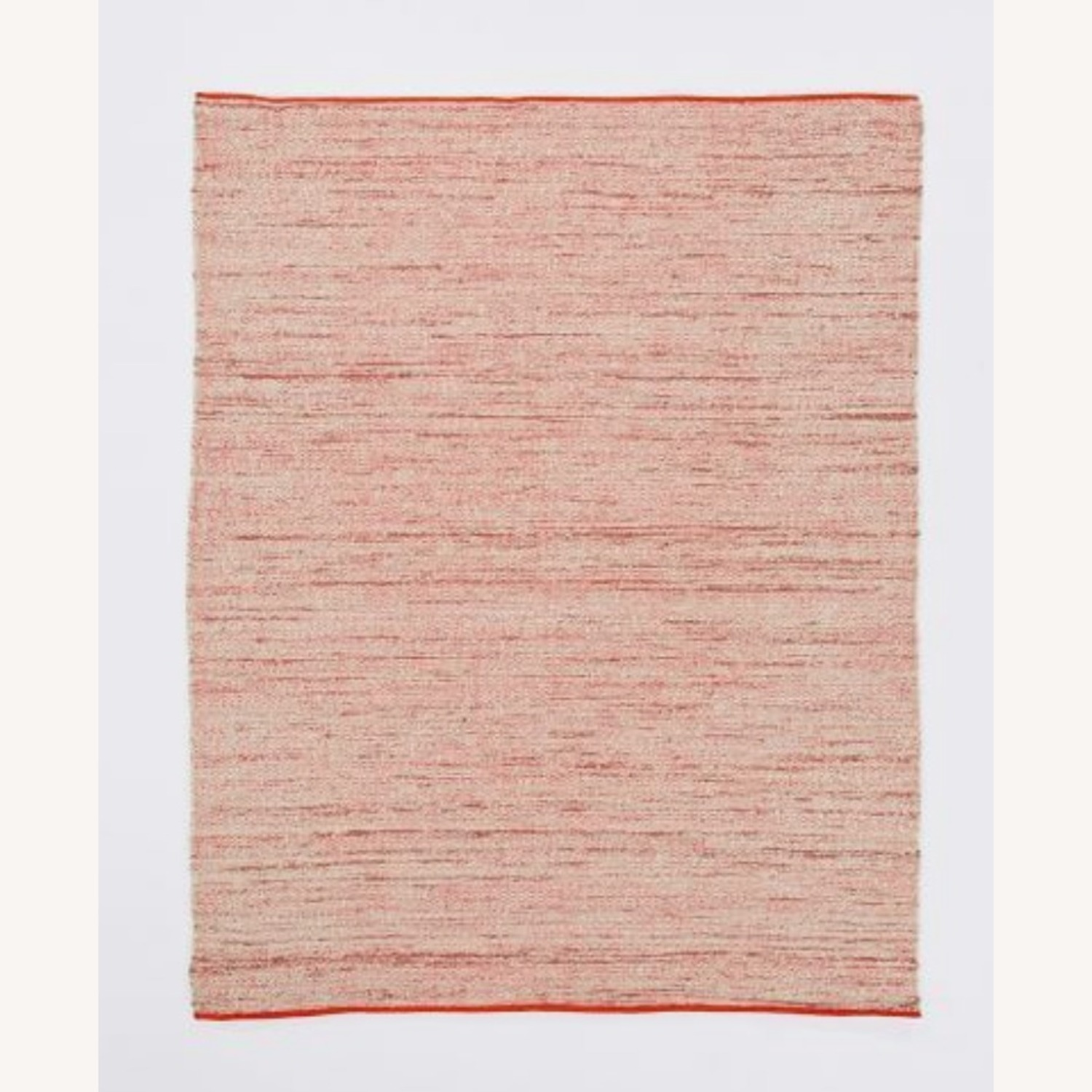 West Elm Plain Weave Sweater Wool Rug, 8'x10', Cayenne - image-1