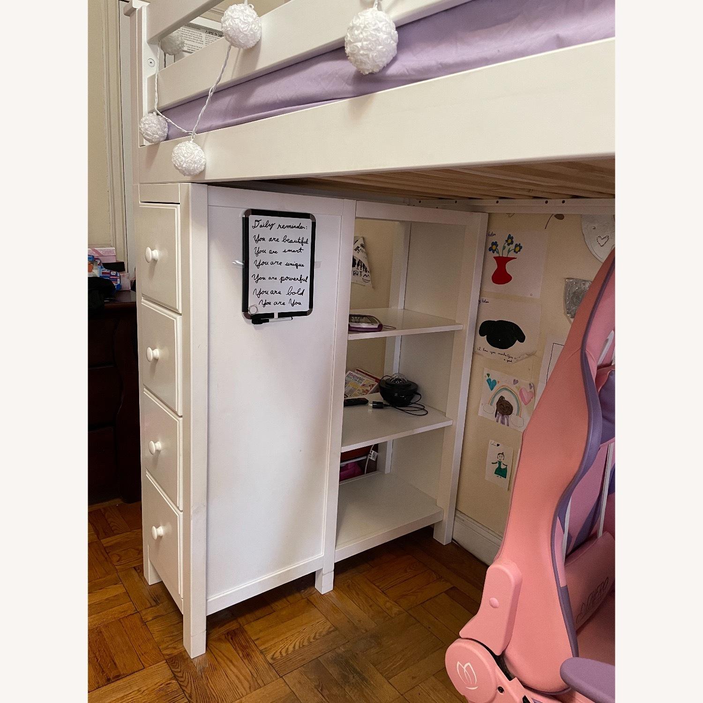 Space Saver Loft w/Desk, Chest & Ladder, Twin - image-3