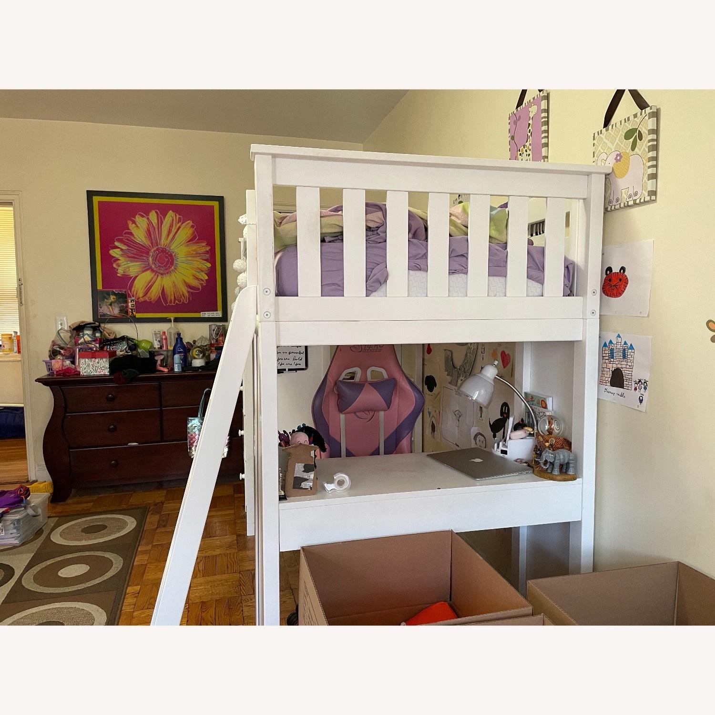 Space Saver Loft w/Desk, Chest & Ladder, Twin - image-2