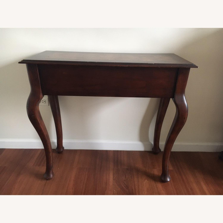 Wood Console Table Vintage Retro/Antique Style - image-3