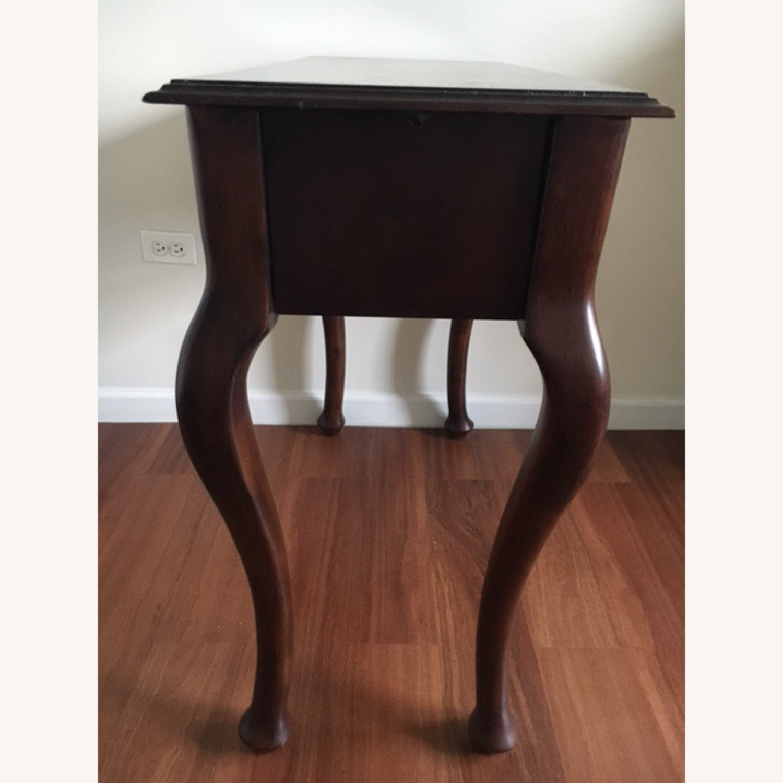 Wood Console Table Vintage Retro/Antique Style - image-2