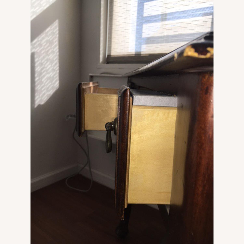 Wood Console Table Vintage Retro/Antique Style - image-8