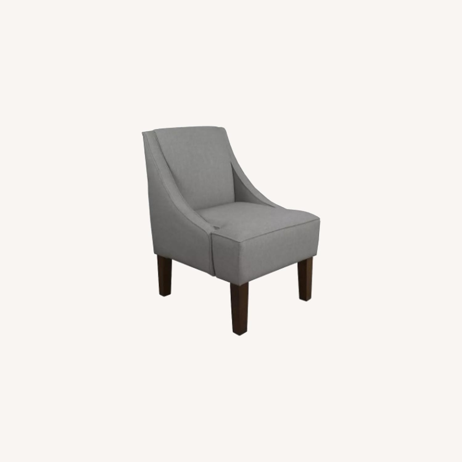 Gray Lounge Accent Chair - image-0
