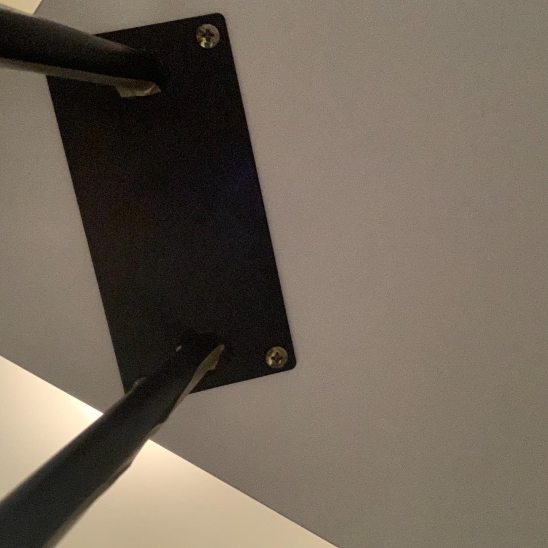 Mid Century Modern Pin Leg Desk - image-5