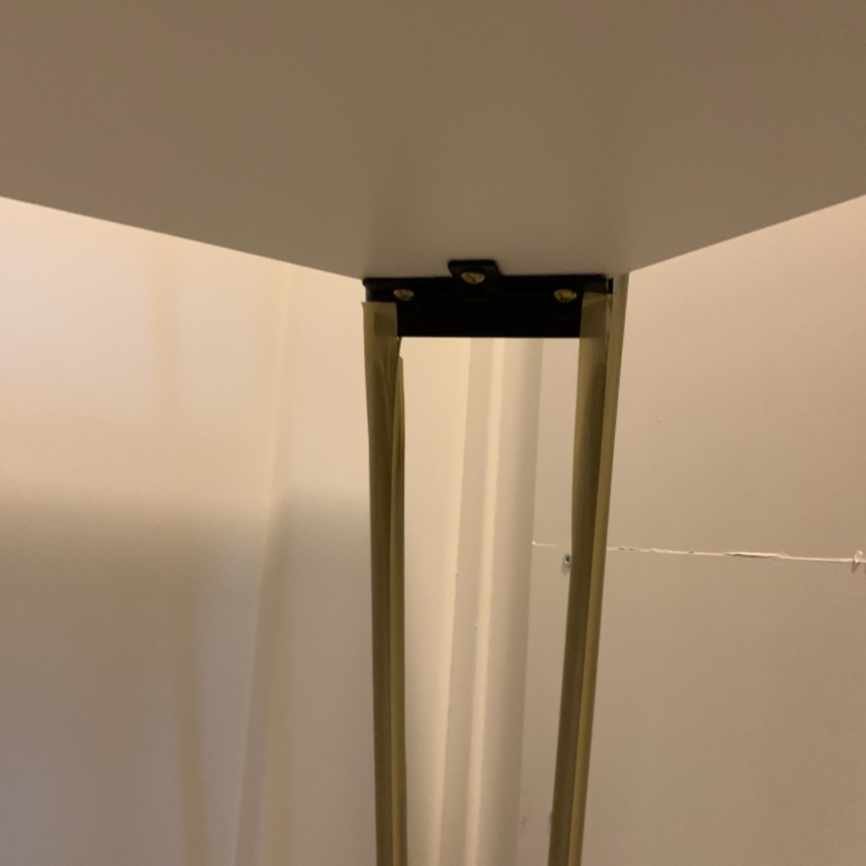 Mid Century Modern Pin Leg Desk - image-4