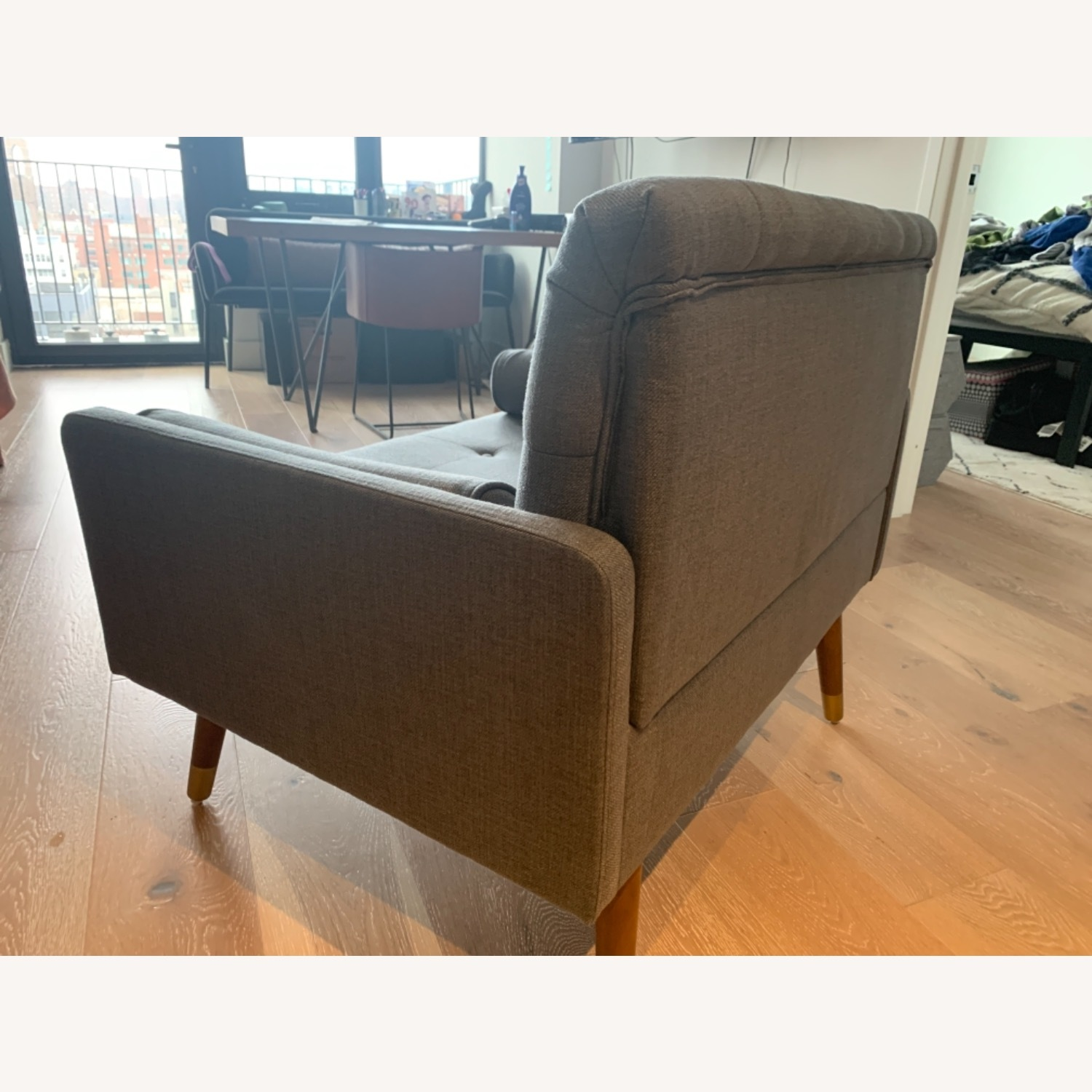 Christopher Knight Home Grey Chair and a Half - image-3