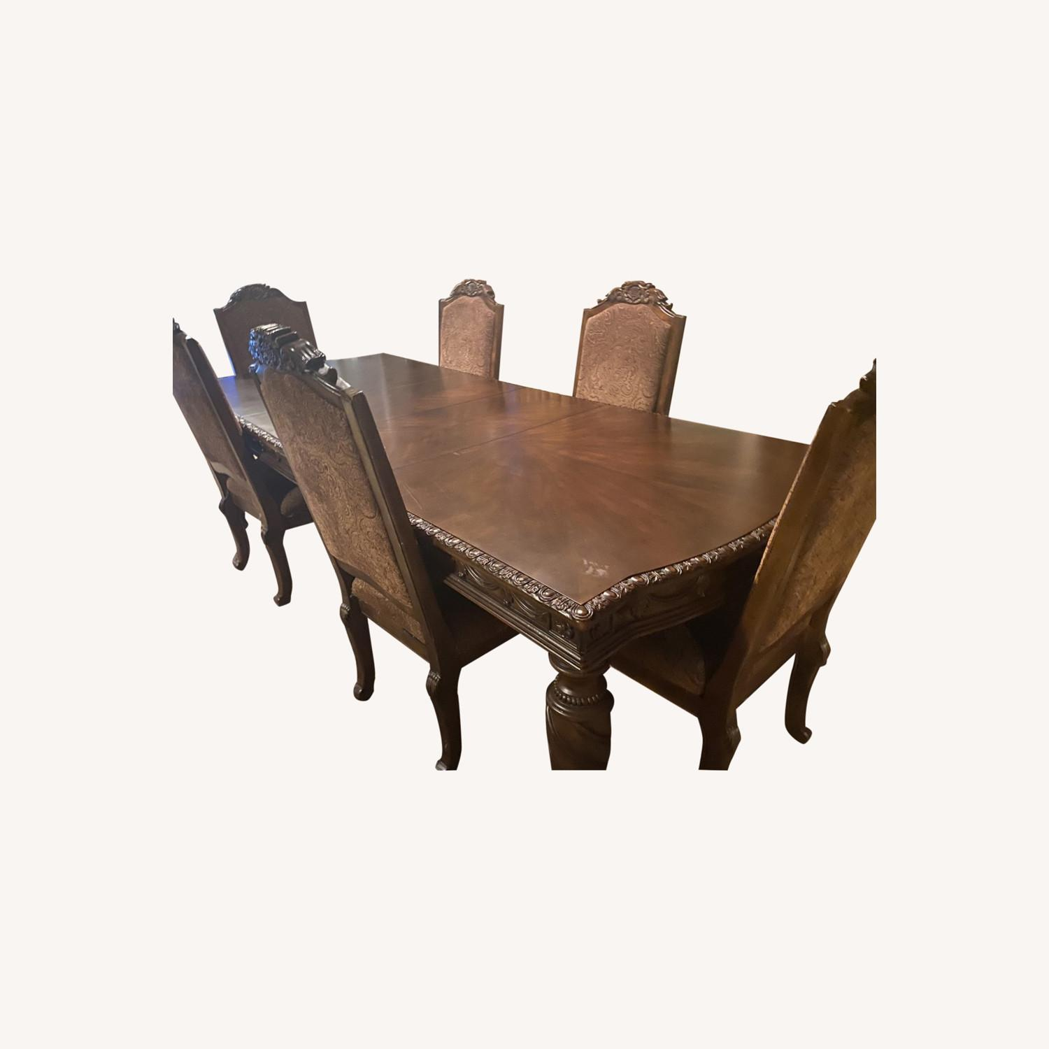 Ashely Furniture 6 pc Dining Table - image-0