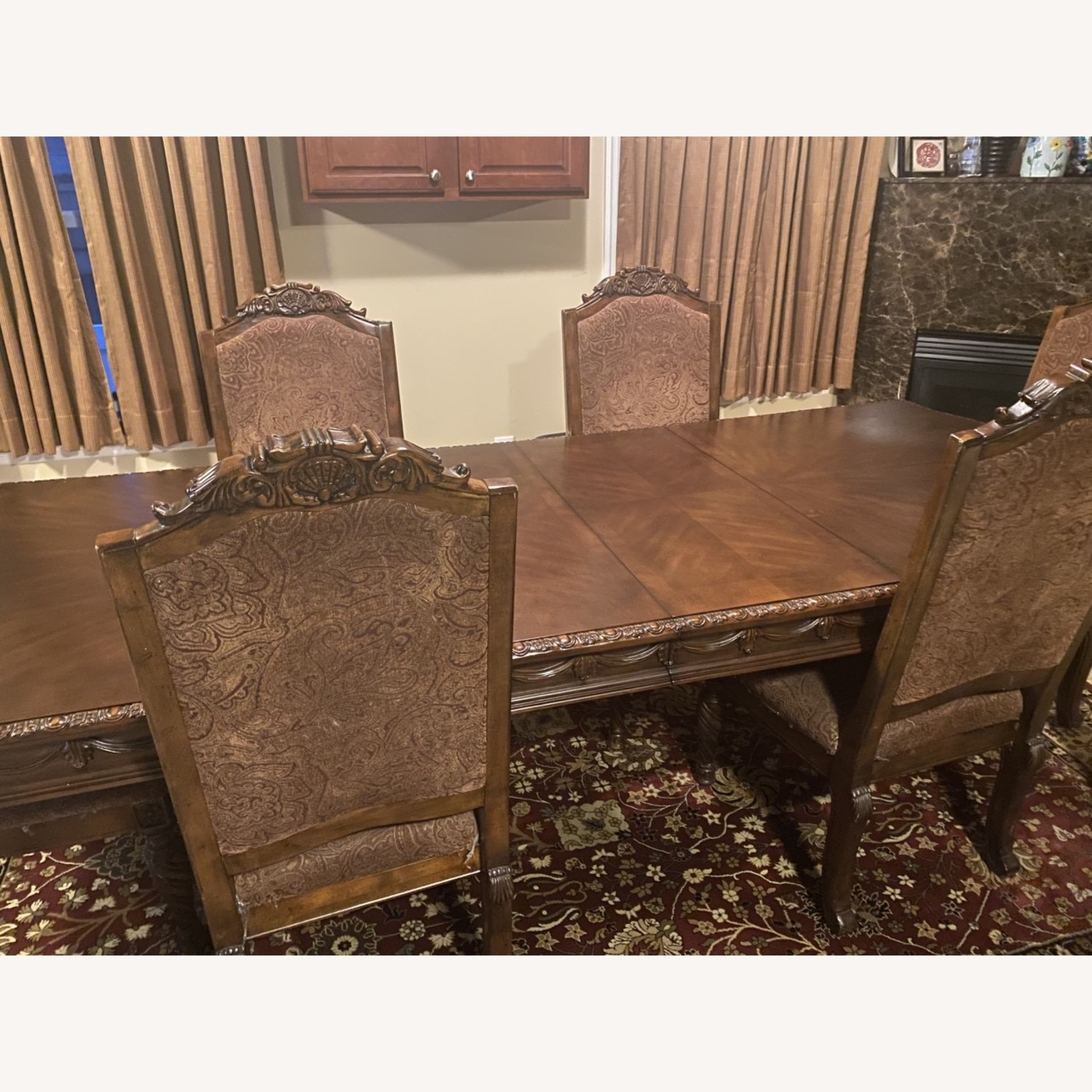 Ashely Furniture 6 pc Dining Table - image-2