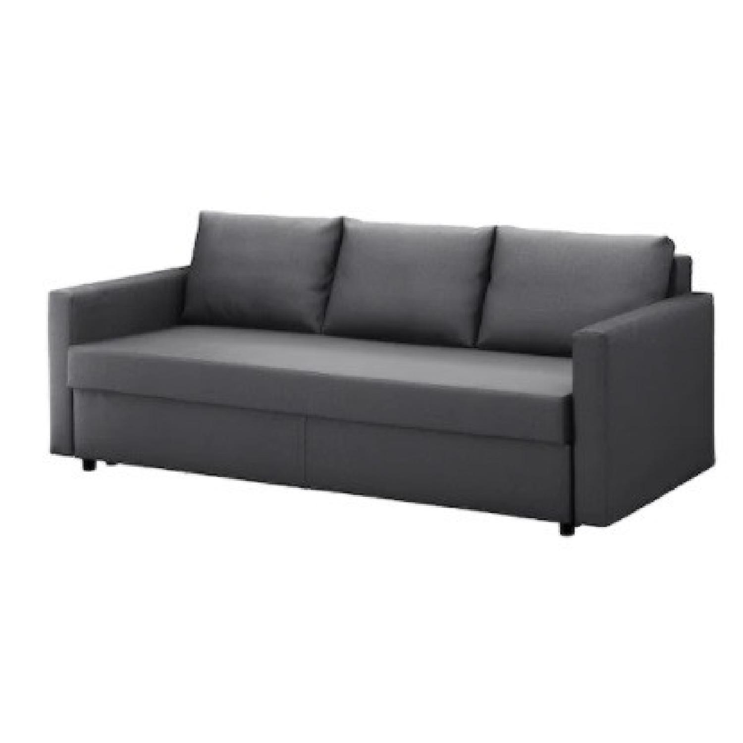 IKEA Dark Grey Sofa Bed - image-12