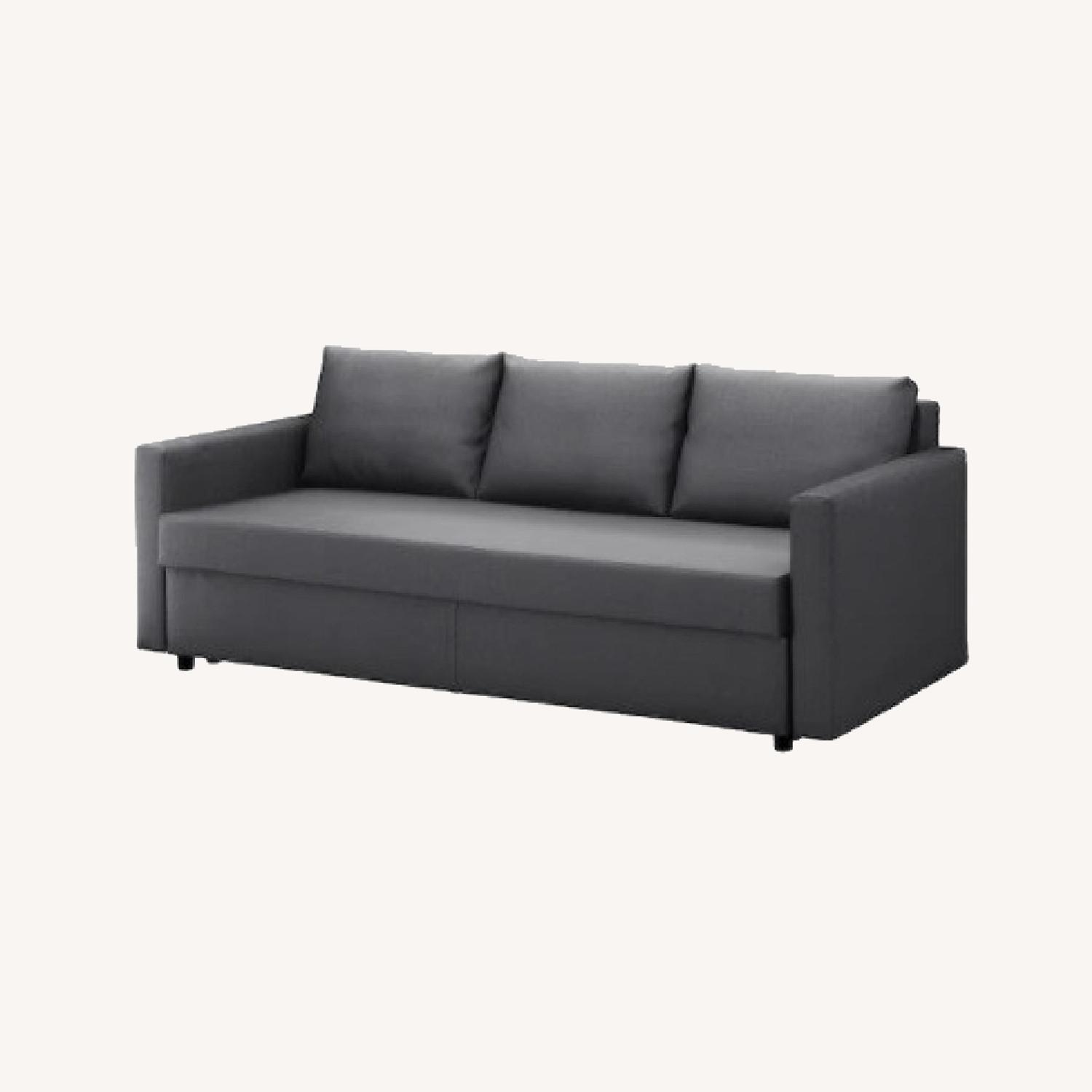 IKEA Dark Grey Sofa Bed - image-0