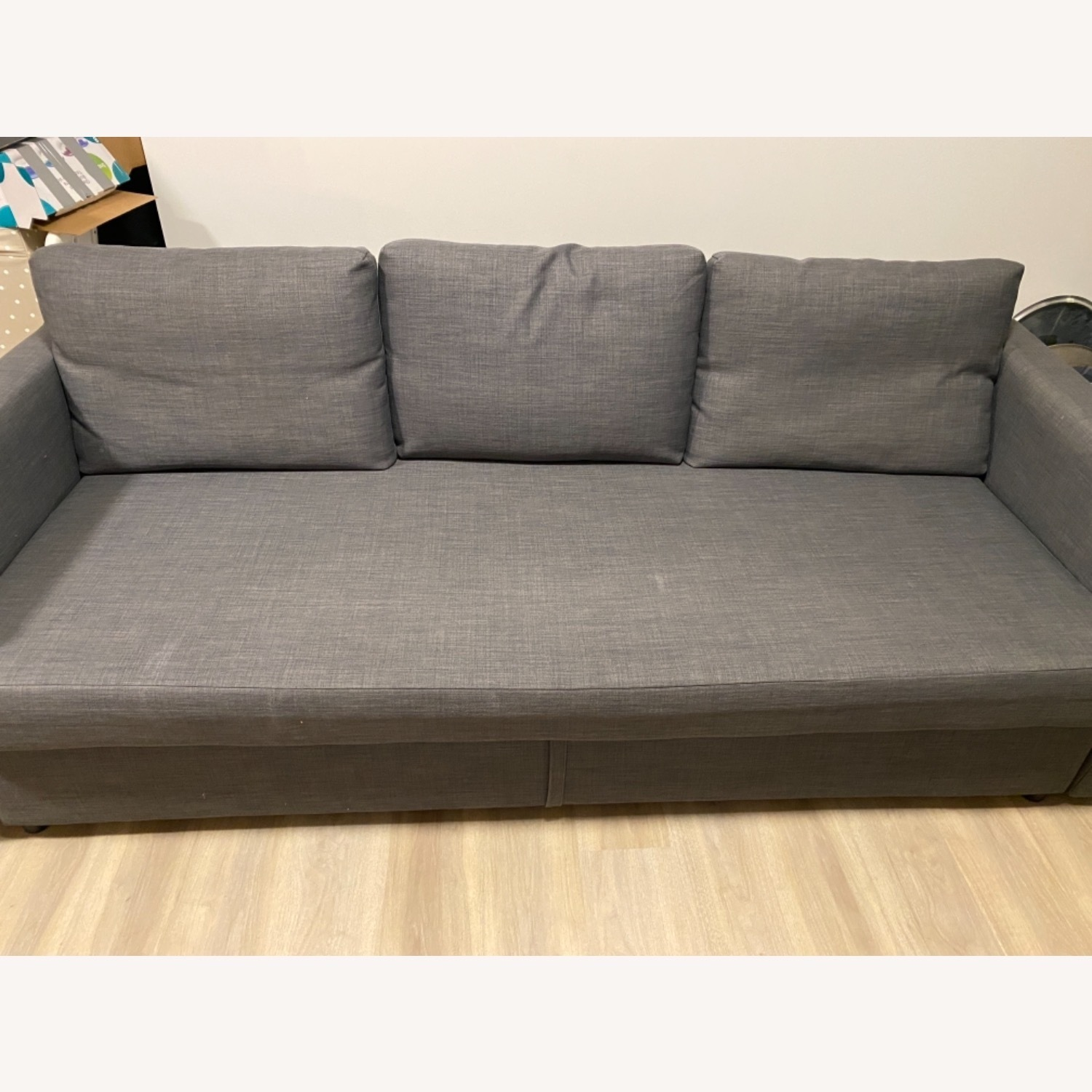 IKEA Dark Grey Sofa Bed - image-2