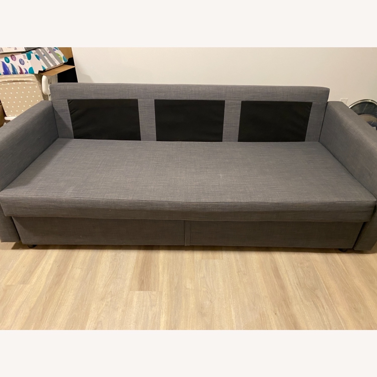 IKEA Dark Grey Sofa Bed - image-4