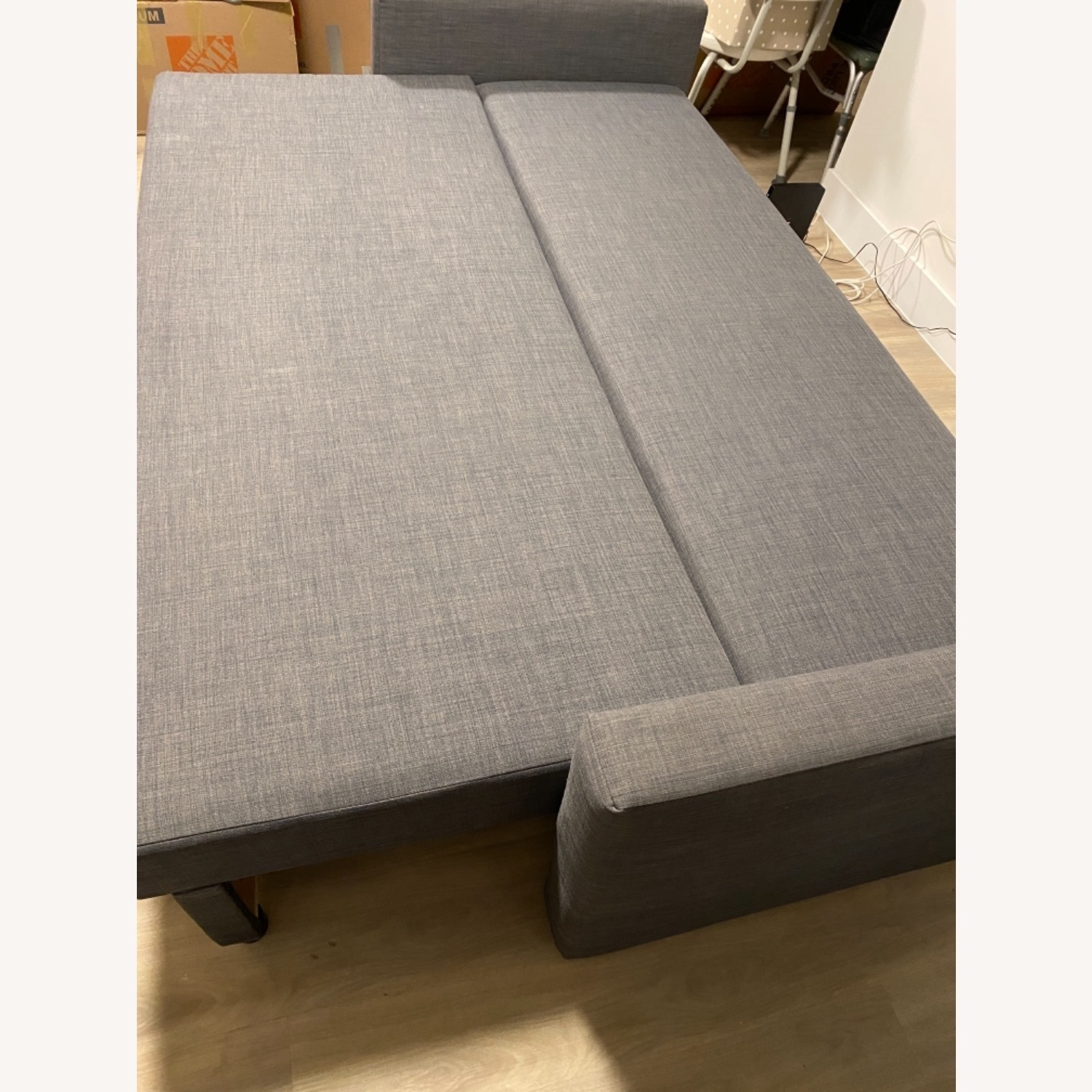 IKEA Dark Grey Sofa Bed - image-8