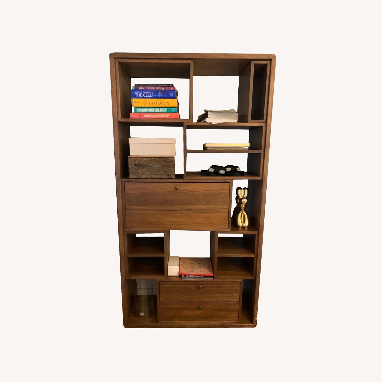 Reclaimed Wood Bookcase - image-0