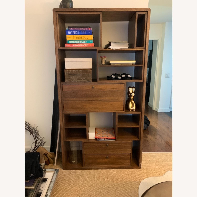Reclaimed Wood Bookcase - image-1