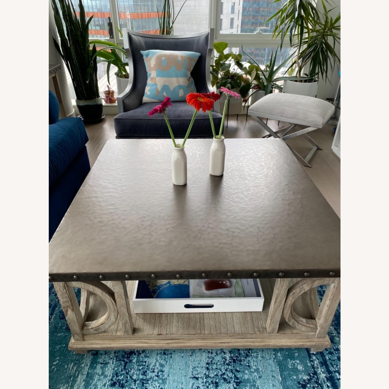 Restoration Hardware large Coffee Table - image-3