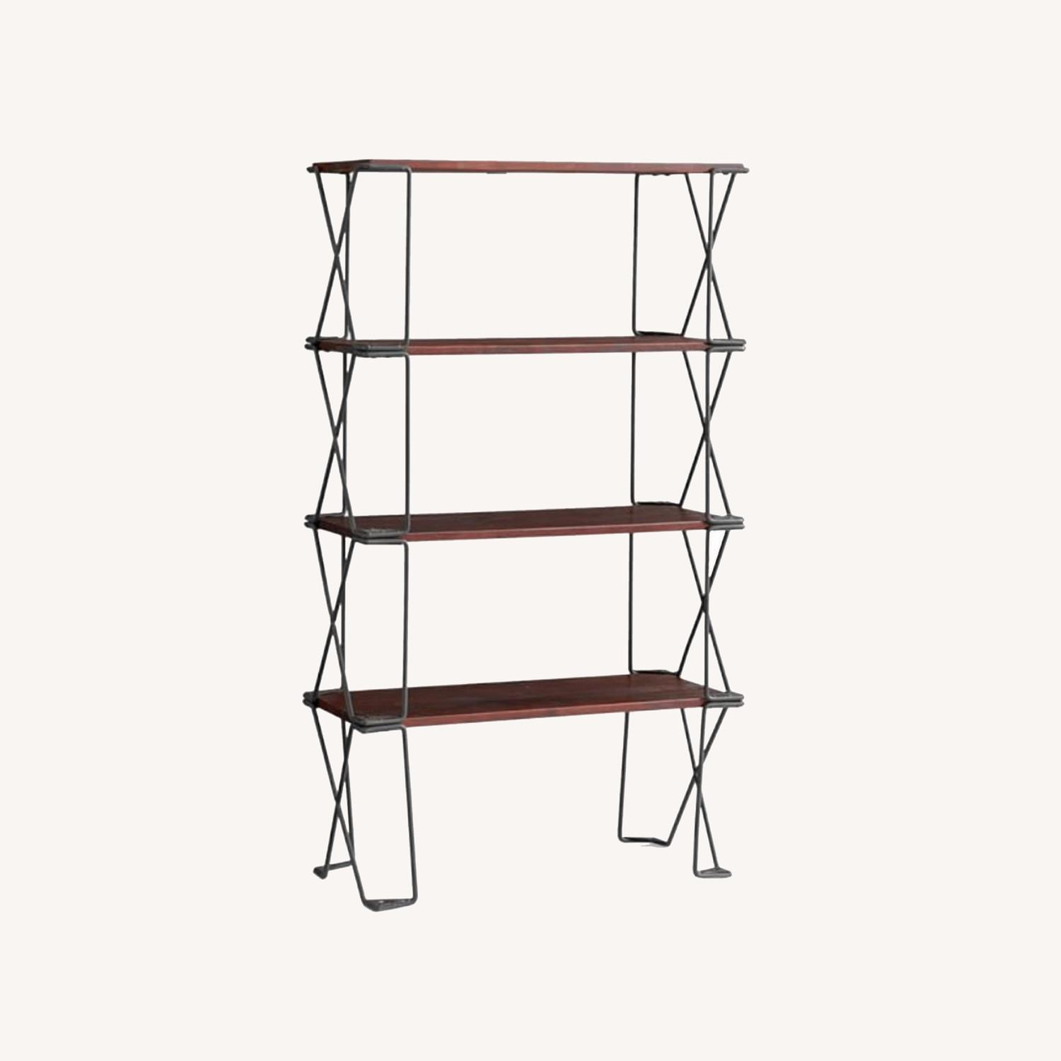 Pottery Barn Set of Dublin Modular Etagere Bookcases - image-0